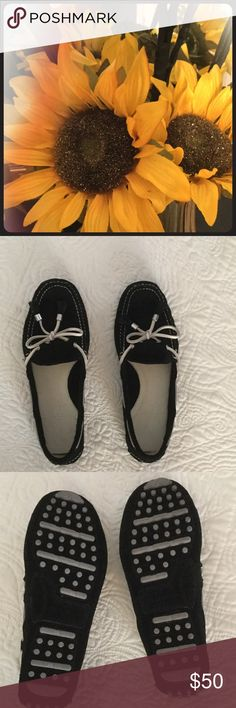 Shoes Black Cole Haan slip on shoes.  Original tags removed but never worn. Cole Haan Shoes Flats & Loafers