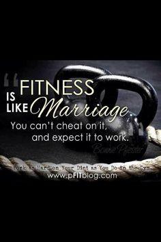 ExerciseIsLikeMarriage