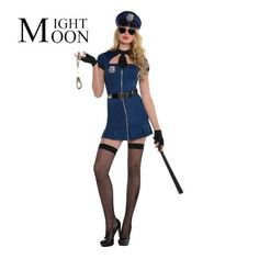 Sexy Lingerie Police Womens Costume For Cosplay Police Costume Halloween