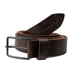 Levi\'s Leather Belt Dark Brown