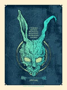 art by one of my bestest friends ever. check out his work. i just hung the donnie darko print myself!