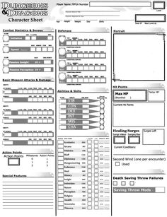 best pathfinder character sheet best character sheets images | character sheet, dnd