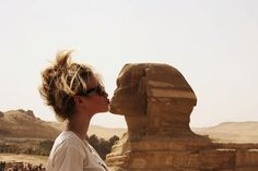 I'll kiss the Sphinx!