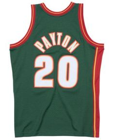 7e6ea8784ffc Mitchell   Ness Big Boys Gary Payton Seattle SuperSonics Hardwood Classic  Swingman Jersey