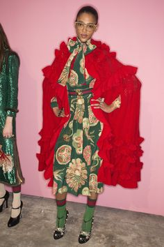 Gucci Fall 2016 Ready-to-Wear Fashion Show Beauty
