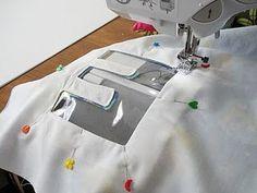 sac à dos avec lettre en transparent