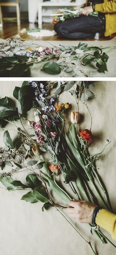 Floral Art featuring Cardboardcities