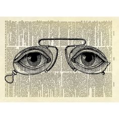 Antique eyeglasses with human eyes dictionary print ($18) ❤ liked on Polyvore featuring accessories, eyewear, eyeglasses, vintage eye glasses, antique eyewear, vintage eyewear, antique eye glasses and vintage eyeglasses