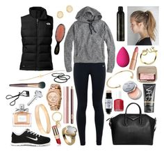 """""""01-24-2016"""" by belledenuit ❤ liked on Polyvore featuring NIKE, The North Face, Outdoor Voices, Givenchy, Tai, Jennifer Fisher, Astley Clarke, Christian Dior, Van Cleef & Arpels and NARS Cosmetics"""