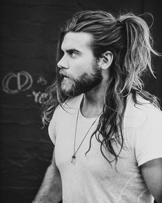 Famous Inspiration Man Bun Hairstyle Brock - These are hairstyle bun to get in We cover all types of fade haircuts, crop haircuts, classic short haircuts for men, and foremost quiff haircuts. Style a persons hair can reflect the personality. Long Hair Cuts Straight, Straight Haircuts, Men Long Hair, Long Hair Beard, Thin Hair, Brock Ohurn, Hair And Beard Styles, Long Hair Styles, Man Ponytail