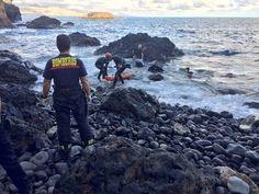 Rescatan cuerpo sin vida en Nidillos, La Laja Gran Canaria
