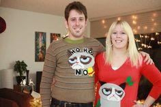 grumpy cat sweaters? haha yes!