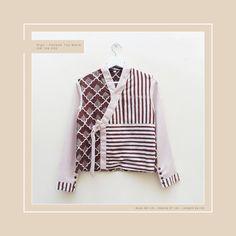 Top ala Hanbok by Choisi. Made from Batik Garutan and Linen.