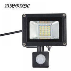 Buy Refletor LED Flood Light Searchlight With Pir Motion Sensor Floodlight Waterproof Outdoor Lighting Factory Price