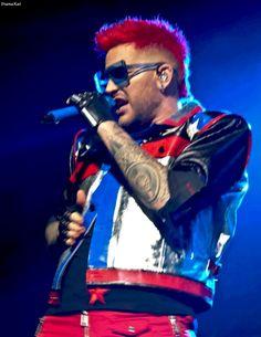 Adam Lambert w Queen in Las Vegas  - 2nd Stopof the QAL North American Tour 2017