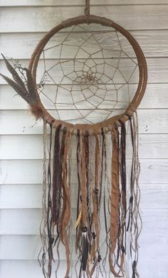 Rustic Dream Catcher Cradle - Newborn Photo Photography Prop and can be used to store baby toys after photo shoot too