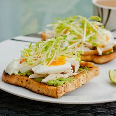 Soft Boiled Egg Avocado Toast {Gluten-Free, Dairy-Free}