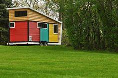 Arquitetura Sustentavel: Casa de 42 m² pode ser rebocada para qualquer luga...