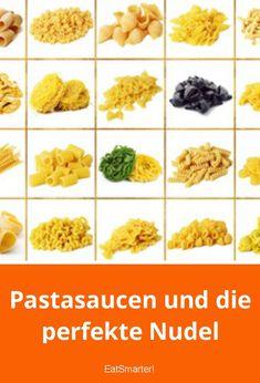 Pastasaucen und die perfekte Nudel