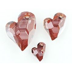 Swarovski Devoted 2 U Heart Pendant Red Magma 27mm *