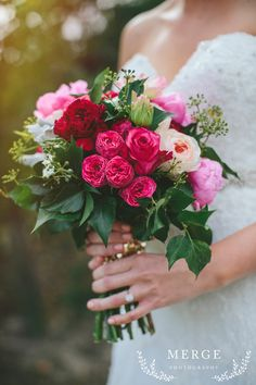 {Wedding Blooms} Image: Merge Photography