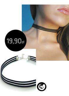 Kup mój przedmiot na #vintedpl http://www.vinted.pl/akcesoria/bizuteria/15709868-choker-z-elastycznego-paseczka-milimoon-czarny-black-naszyjnik-paski