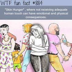 Skin Hunger - WTF fun fact