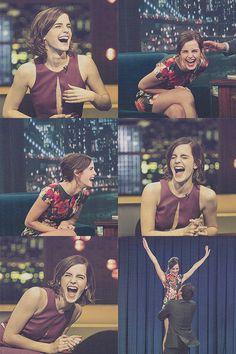"""Nobody can resist Emma Watson's laugh "" Alex Watson, Emma Watson Fan, Lucy Watson, Emma Watson Casual, Hermione Granger, Emma Love, Emma Watson Beautiful, Emma Thompson, Hollywood Actresses"