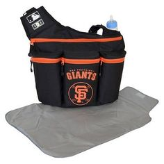 Diaper Dude San Francisco Giants Diaper Bag, San Fran Black