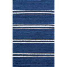 I pinned this Veranda Indoor/Outdoor Rug in Maritime Blue from the Momeni event at Joss and Main! Add a pop of seaside style to your bedroom, living room, or porch with the charming Veranda Indoor/Outdoor Rug, artfully hand-hooked for lasting enjoyment.