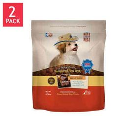 Pampered Pet Treats Cowboy Classic All Natural Oven-Baked Dog Treats in Resealable Bags (5 lbs. Each), 2 PACKS * See this awesome image  : Dog treats