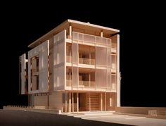 Model my Richard Meier 能把医院立面做成这样,我也心满意足了。