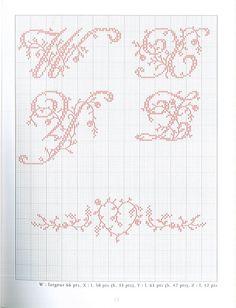 Gallery.ru / Фото #7 - belles lettres au point de croix - moimeme1