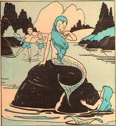 vintage mermaid!
