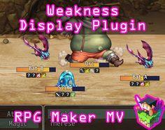 Weakness Display plugin for RPG Maker MV by Olivia