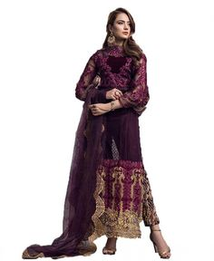 Buy Multi Color Georgette Pakistani Suit Lehenga Choli, Saree, Online Shopping, Pakistani Suits, Designing Women, Kurti, Dresses Online, Bohemian, Stuff To Buy