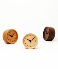 Wood Circle Clock
