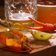#Натюрморт с #пивом и #раками Food Photo, Shrimp, Meat