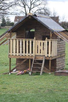 Cabane Enfant Oogarden : cabane en bois luka cabanes en bois maisonnette et les ~ Premium-room.com Idées de Décoration