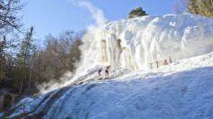 Cascata-Balena terme di San Filippo - monte Amiata-