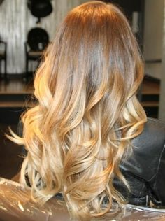 blonde ombre I am in LOVE w/this color!