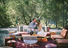 Indie Southern California wedding | Real Weddings and Parties | 100 Layer Cake