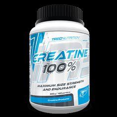 CREATINE 100%: 100% Monohydratu Kreatyny   Gwałtowny wzrost rozmiarów mięśni Wspomaga utrzymanie wysokiej formy 100% Monohydratu Kreatyny
