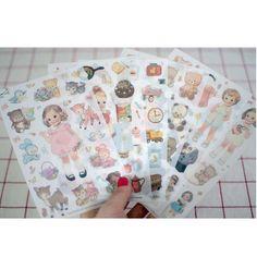 The Kawaii Notebook- stickers