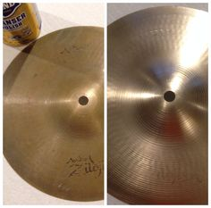 Bar Keepers Friend will put the shine to drum cymbals.