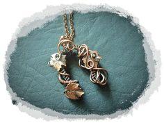 Copper Pendant  Good Luck Amulet