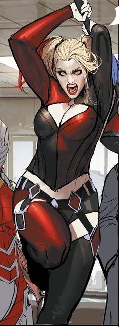 "zeddfrost: "" Harley Quinn by Stjepan Seijic "" DC Comics"