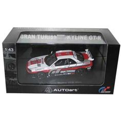Nissan Skyline GT-R Gran Turismo Diecast Car Model 1/43 Autoart -- You can get more details by clicking on the image. (This is an affiliate link) #GrownUpToys