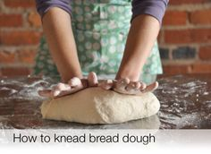This video changed my life! I've been kneading dough the wrong way. Tried this with my pizza dough last night and it was AMAZING!