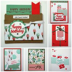 TxStampinSharon: FREE card kits with my December Stampin' Up! Online Classes